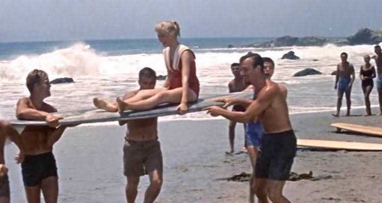 Gidget's Sexual Awakening via Surfing