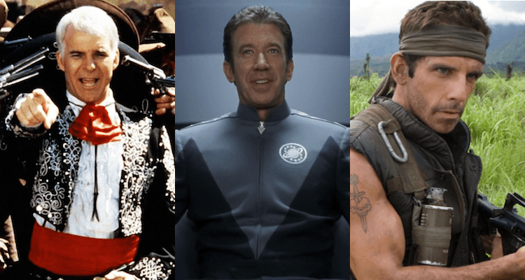 Acting Like Heroes: The Unofficial Trilogy of ¡Three Amigos!, Galaxy Quest, and Tropic Thunder