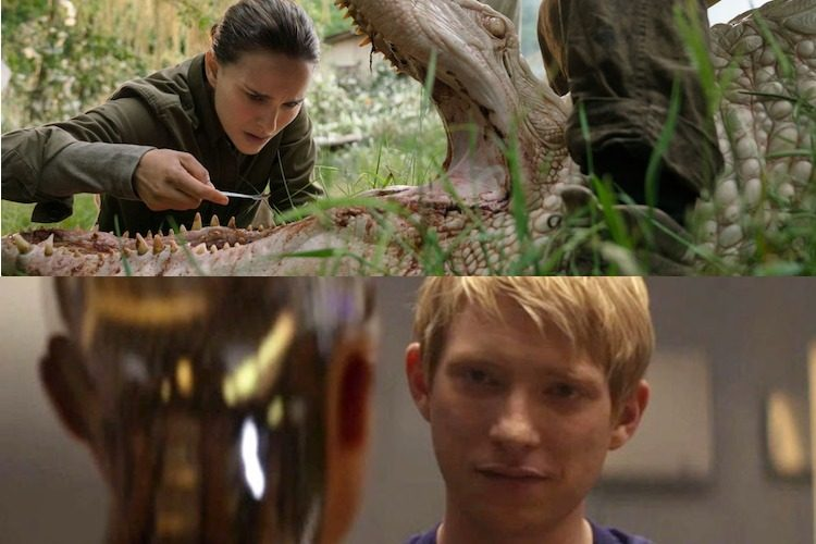 Looking For the End in Annihilation and Ex Machina