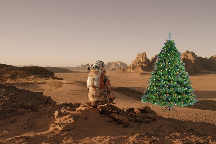 Dreaming of a Red Christmas (Martian, Not Communist)