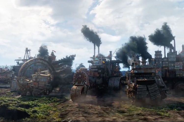 REVIEW: Post-Apocalyptic Steampunk Mortal Engines