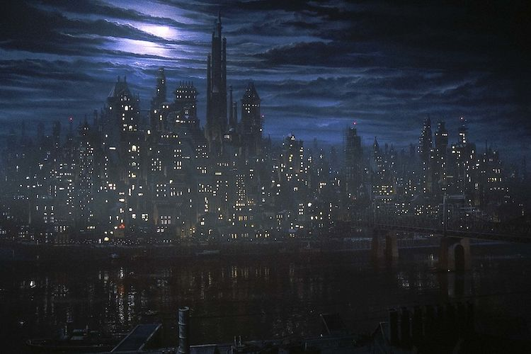 The Architecture of Batman '89