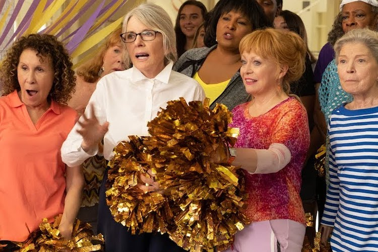 REVIEW: Senior Citizen Cheerleading Comedy Poms