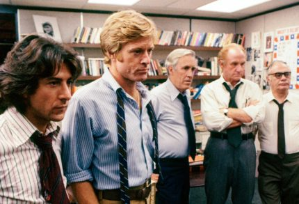 """These Are Not Very Bright Guys"": The Lessons of <i>All the President's Men</i>, 45 Years Later"